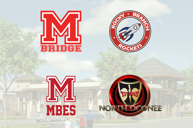 Local schools of The Village at Malcom Bridge